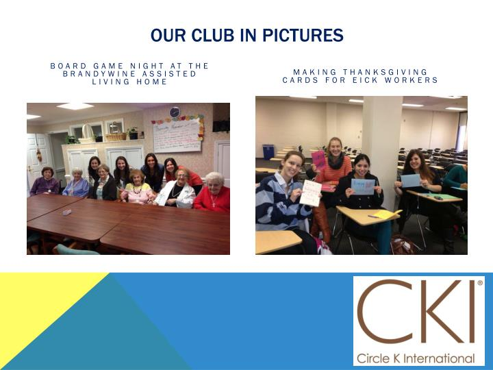 Our club in pictures