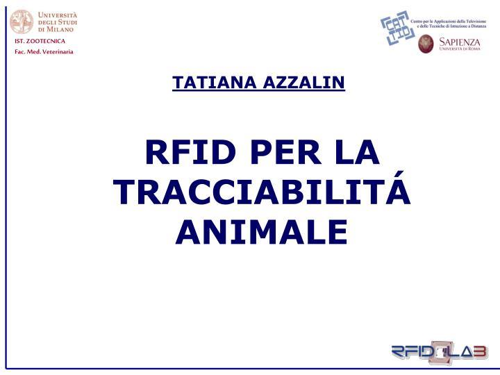 TATIANA AZZALIN