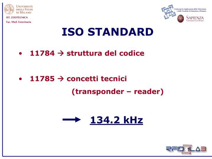 ISO STANDARD