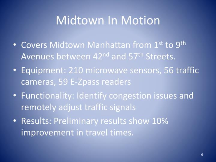 Midtown In Motion