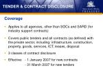 tender contract disclosure1