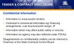 tender contract disclosure5