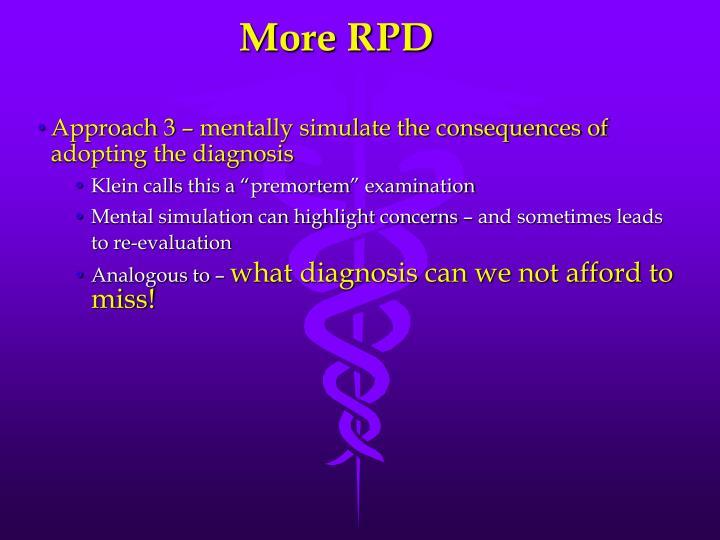 More RPD