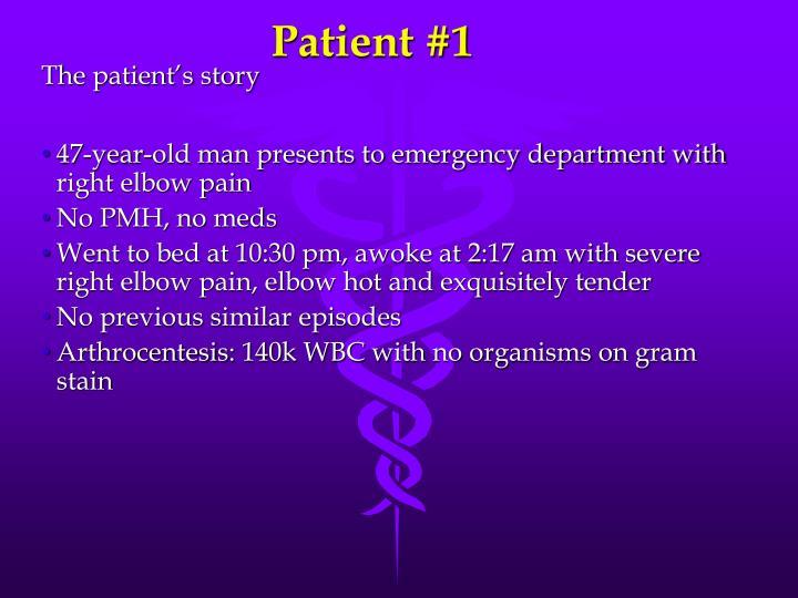 Patient #1