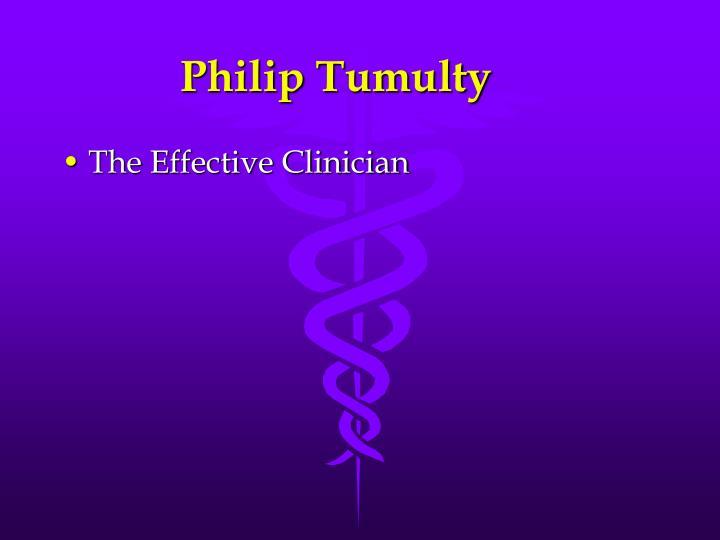 Philip tumulty