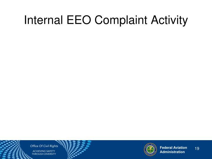 Internal EEO Complaint Activity