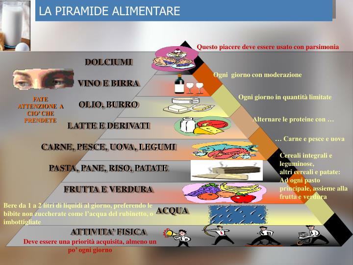 ppt - piramide alimentare powerpoint presentation - id:5256626