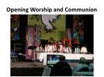 opening worship and communion3