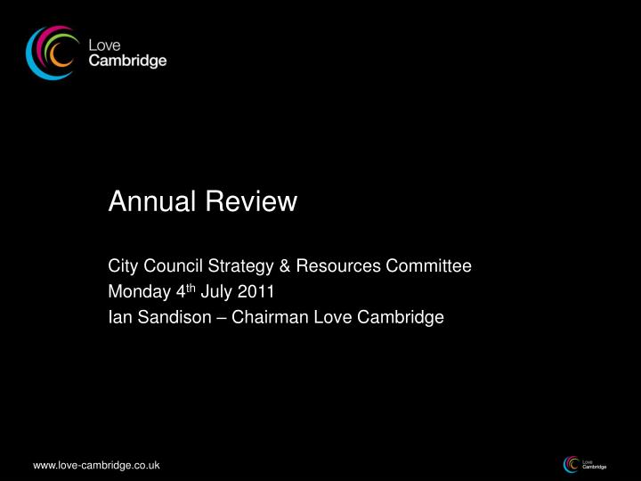 annual review n.