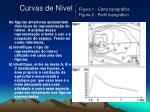 curvas de n vel figura 1 carta topogr fica figura 2 perfil topogr fico