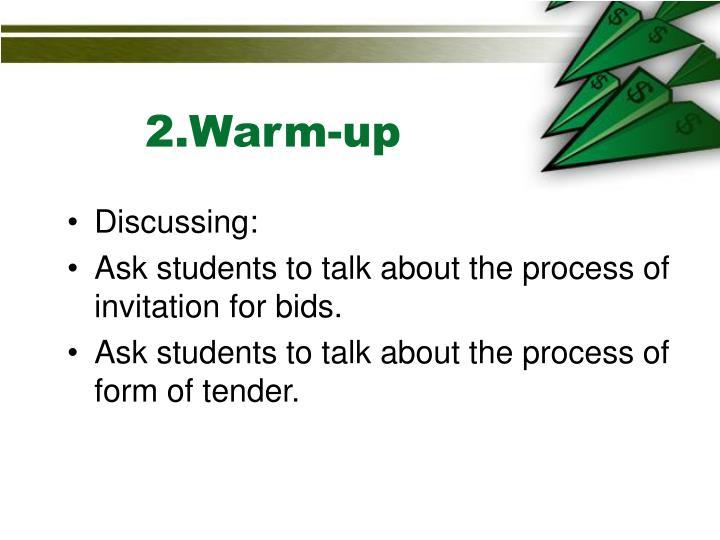 2.Warm-up