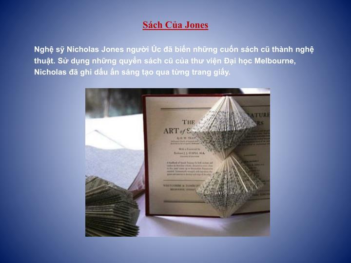 Sách Của Jones