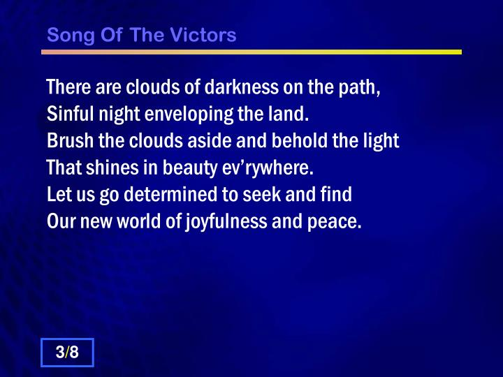 Song of the victors2