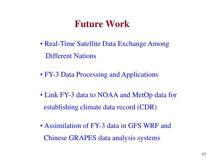 Real-Time Satellite Data Exchange Among