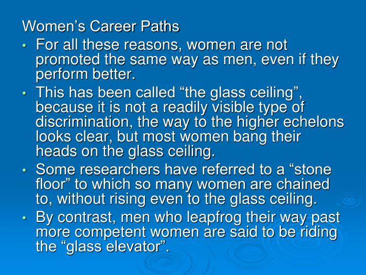 Women's Career Paths