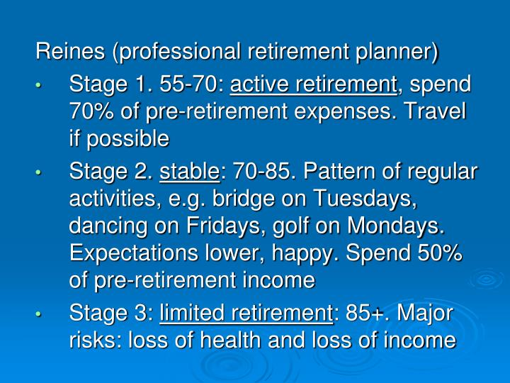 Reines (professional retirement planner)