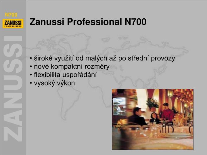 Zanussi professional n700