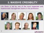 5 massive credibility