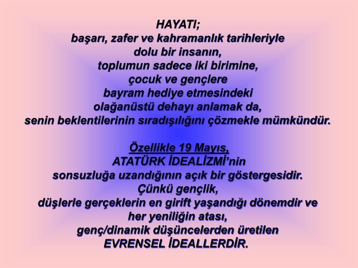 HAYATI;