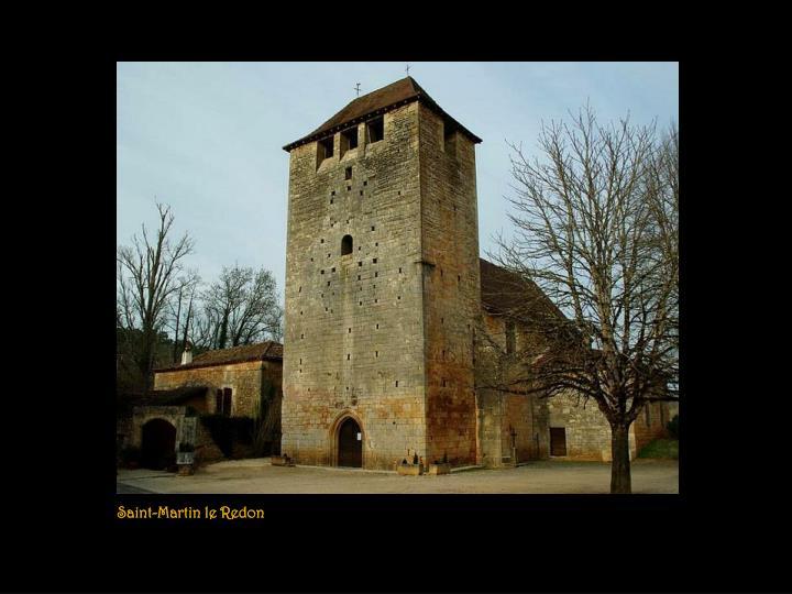Saint-Martin le Redon