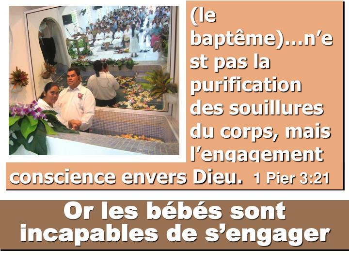 (le baptême)…n