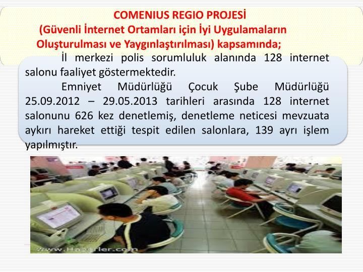 COMENIUS REGIO PROJESİ
