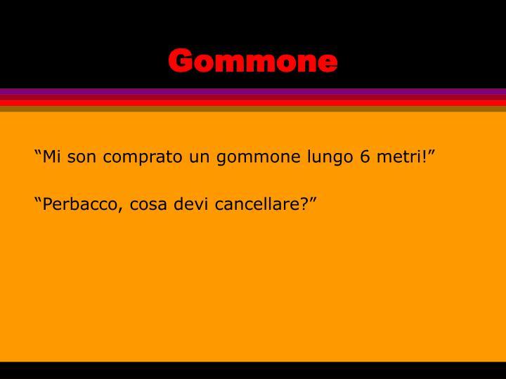 Gommone