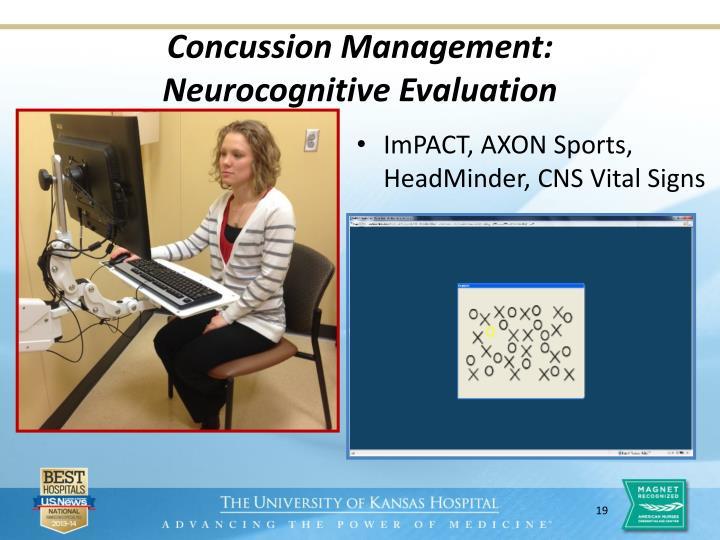 Concussion Management: