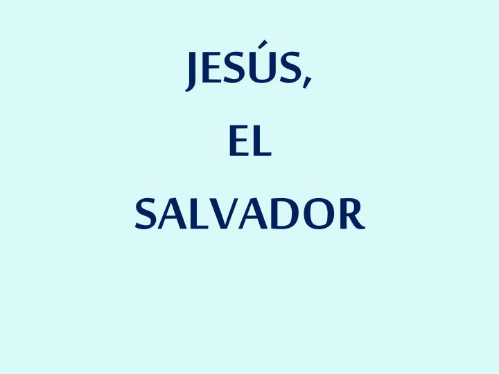 JESÚS,