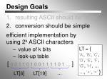 design goals1