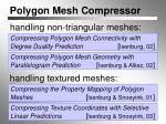 polygon mesh compressor