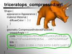 triceratops compressed wrl1