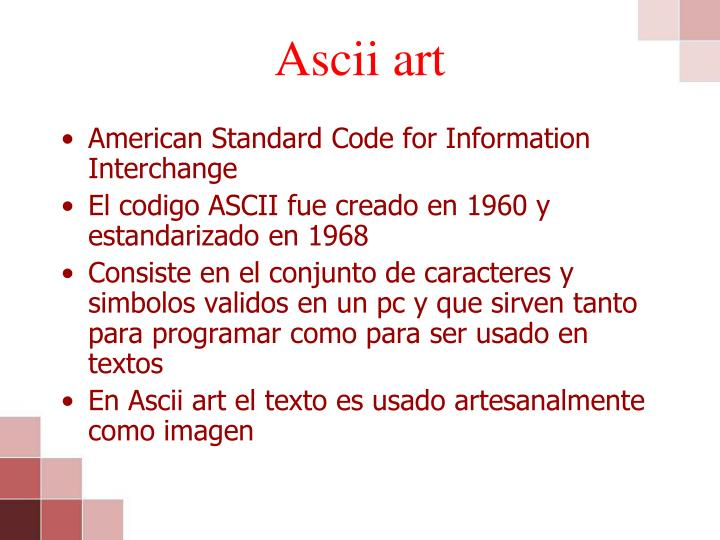 Ascii art1