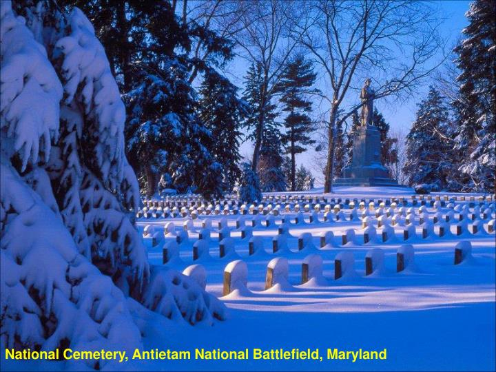 National Cemetery, Antietam National Battlefield, Maryland