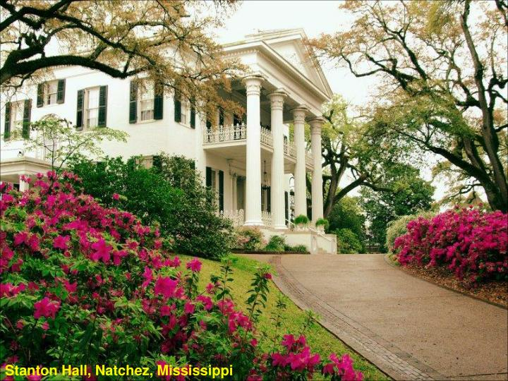 Stanton Hall, Natchez, Mississippi