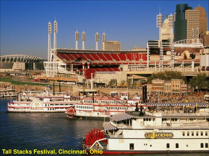 Tall Stacks Festival, Cincinnati, Ohio