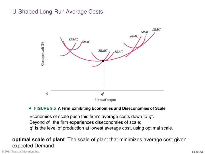 U-Shaped Long-Run Average Costs