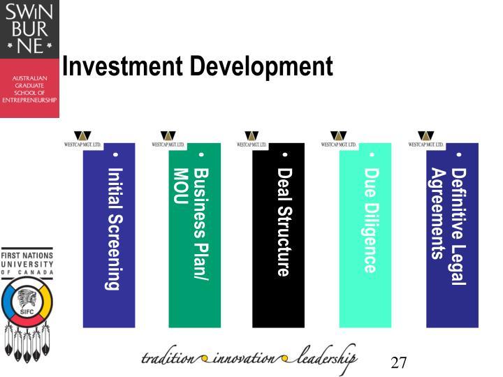 Investment Development