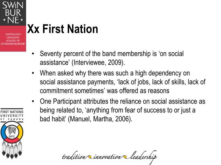 Xx First Nation