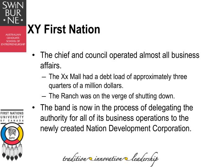 XY First Nation
