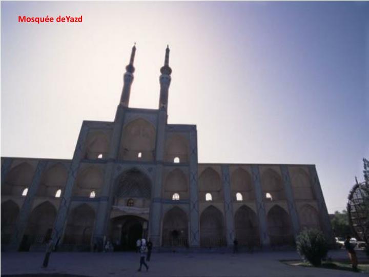 Mosquée deYazd
