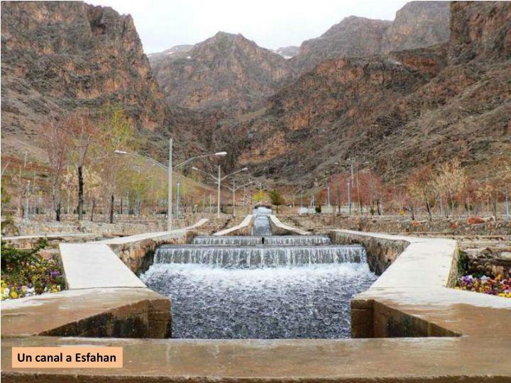 Un canal a Esfahan
