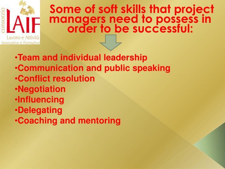 Team and individual leadership