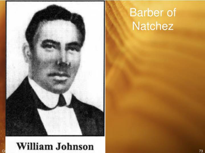 Barber of Natchez