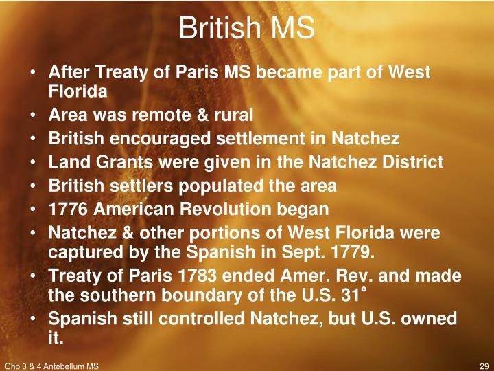 British MS
