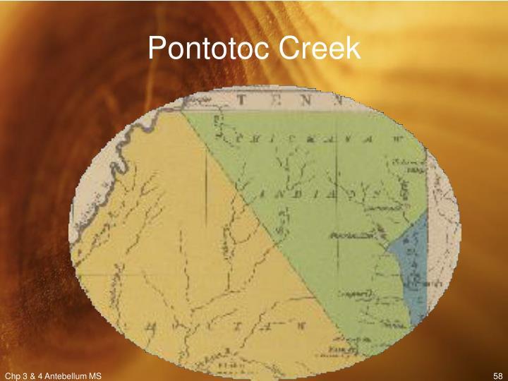 Pontotoc Creek
