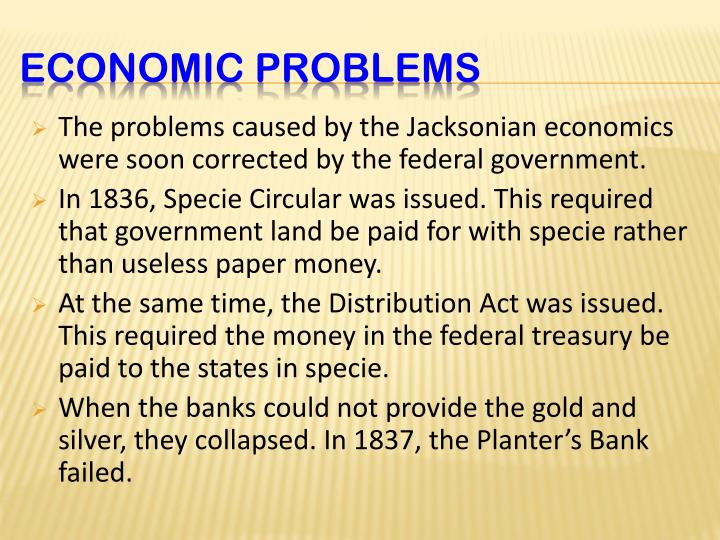 The problems caused by the