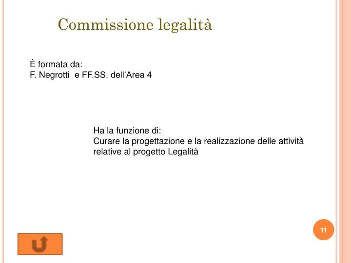 Commissione legalità