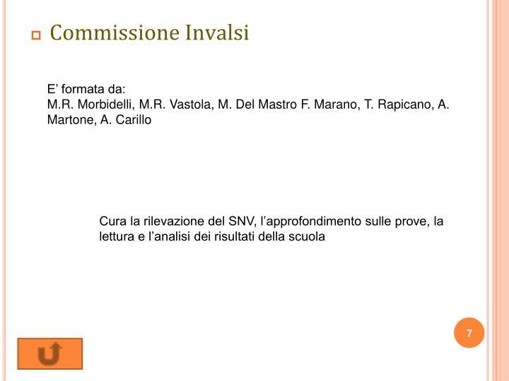 Commissione Invalsi