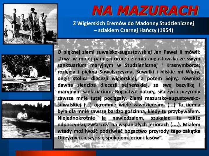 NA MAZURACH